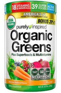 Purely Inspired Organic Greens Reviews