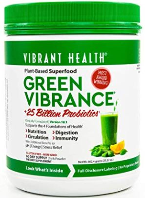 Vibrant Health Green Vibrance Reviews