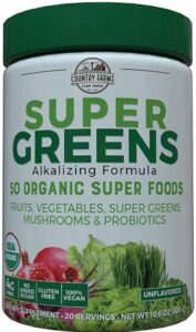 Coountry Farms Super Greens Reviews