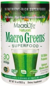 MacrLife Naturals-Macro Greens Reviews